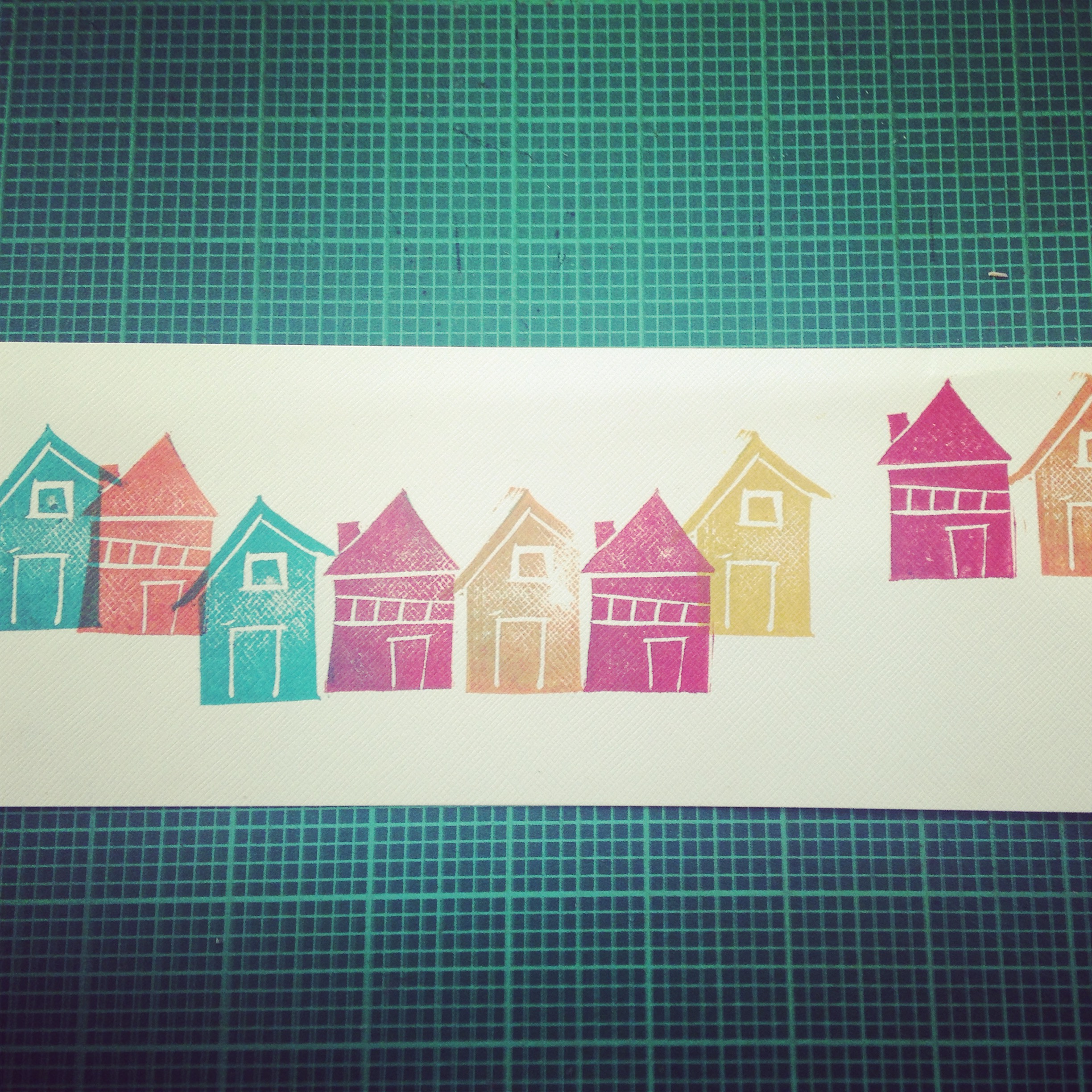 house stamp