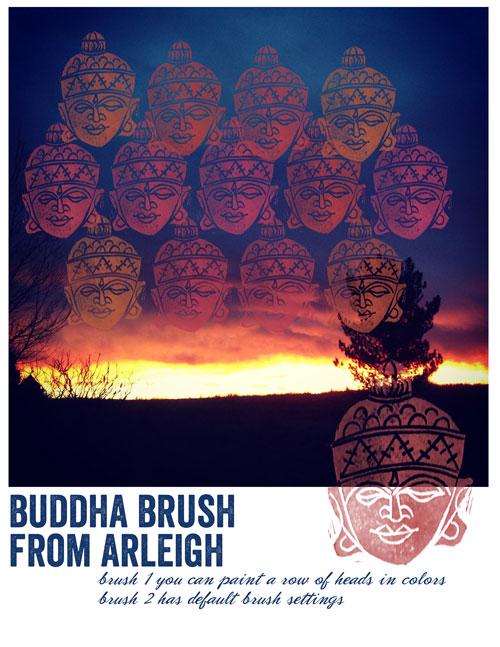 buddha brush